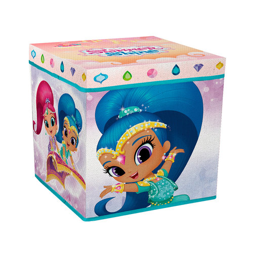 asiento-guarda juguetes shimmer and shine