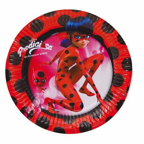 platos fiesta ladybug
