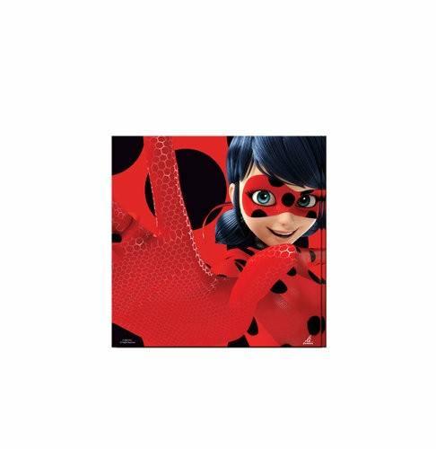 servilletas fiesta ladybug