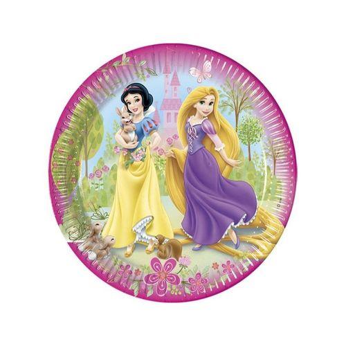 platos fiesta princesas