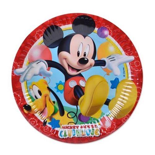 platos fiesta mickey