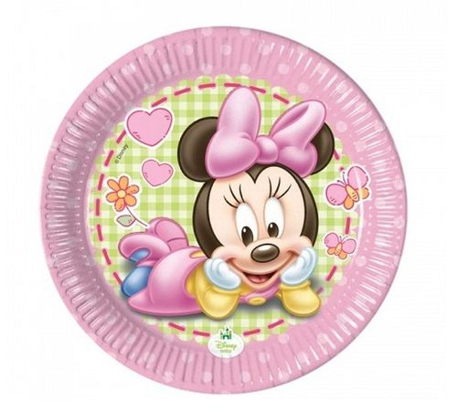 platos fiesta minnie baby