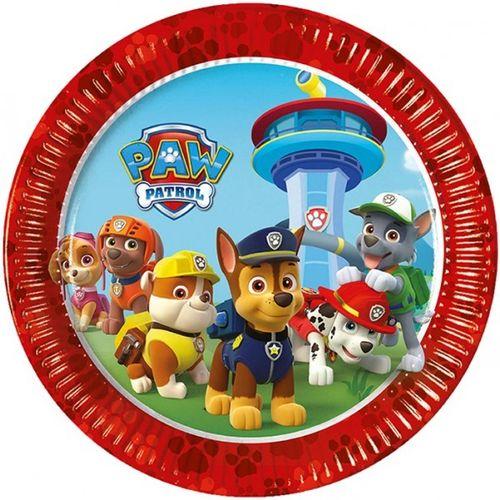 platos fiesta patrulla canina