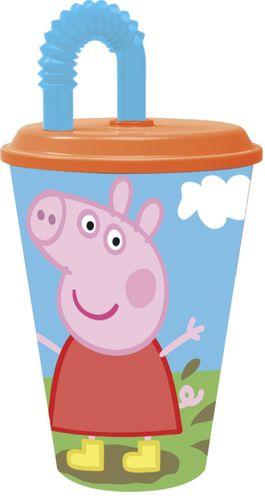 vaso caña peppa pig