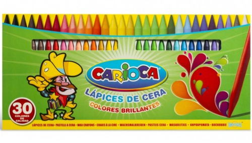 lapices de cera carioca