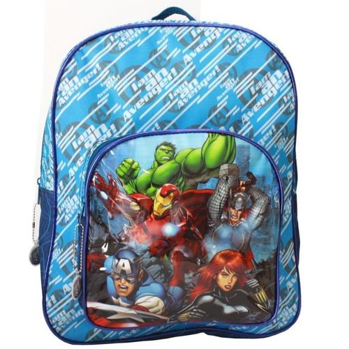 mochila vengadores