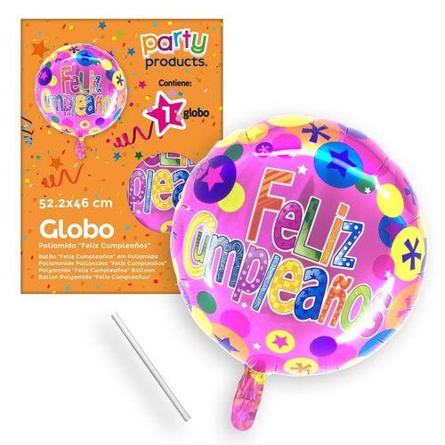 globo poliamida feliz cumpleaños
