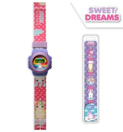 reloj digital unicornio
