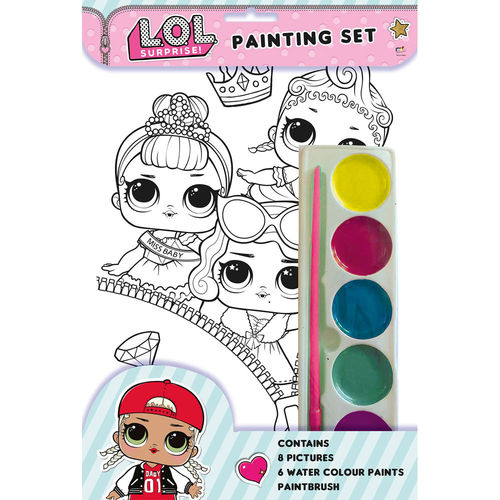 set colorear lol surprise