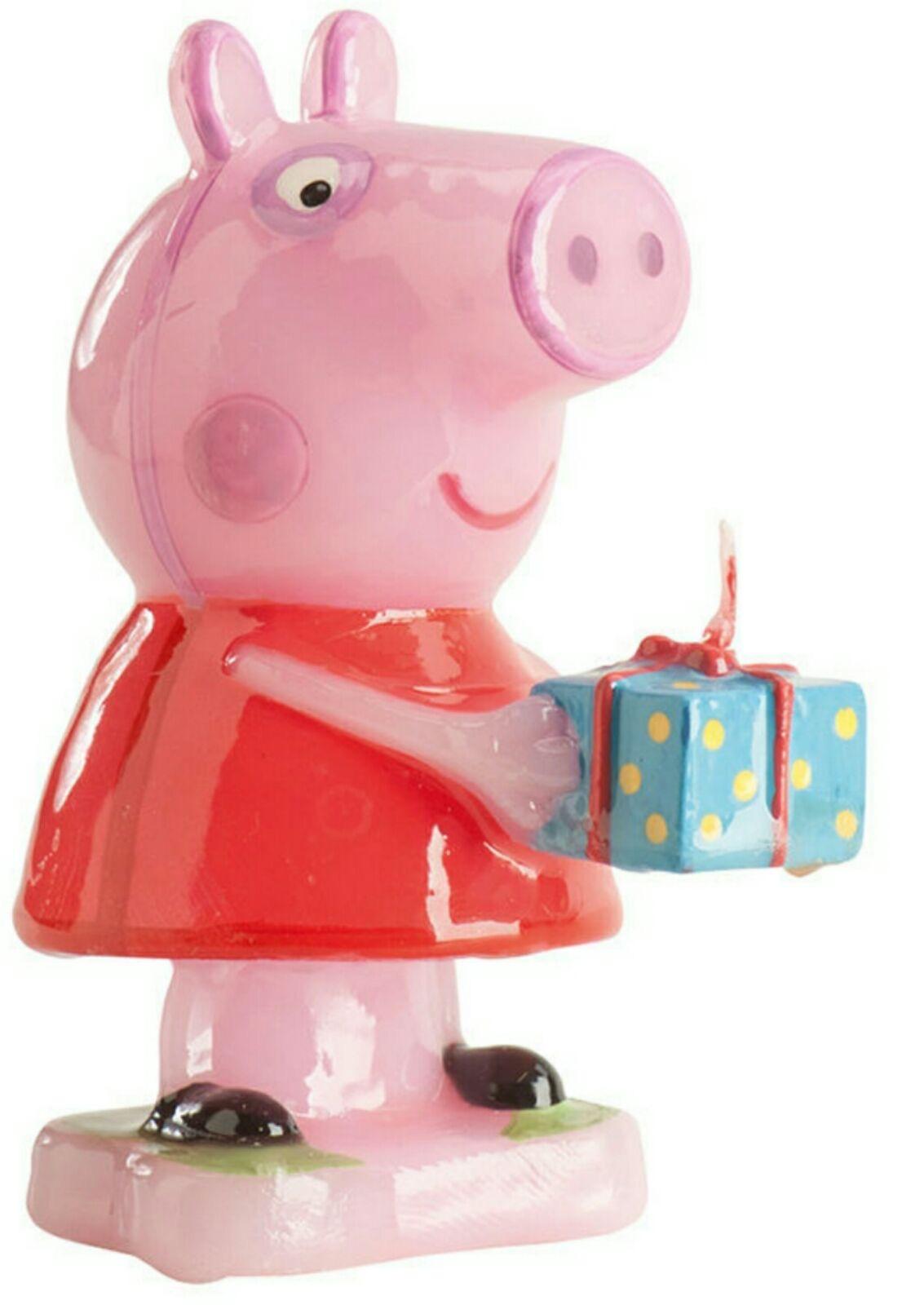 vela cumpleaños peppa pig