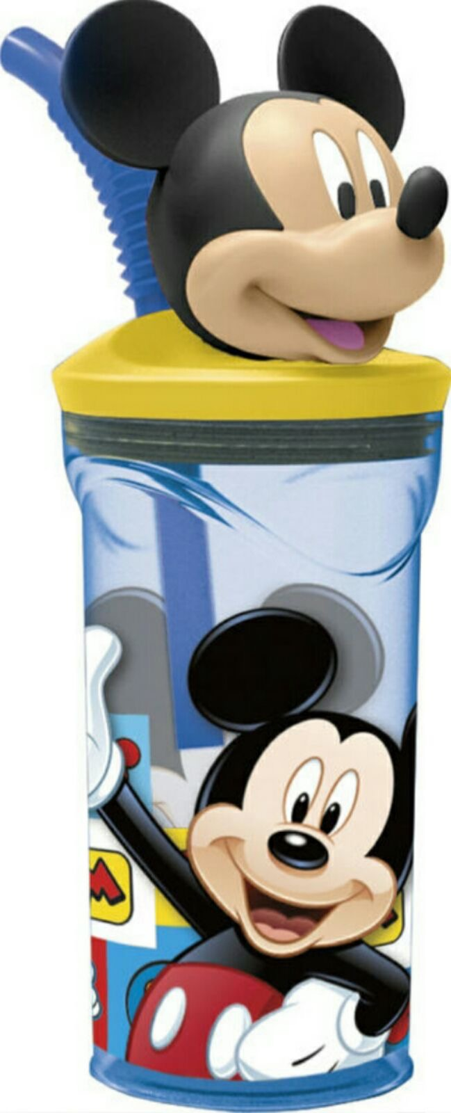 vaso con figura 3D mickey