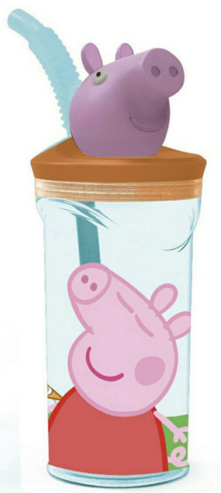 vaso con figura 3D peppa pig