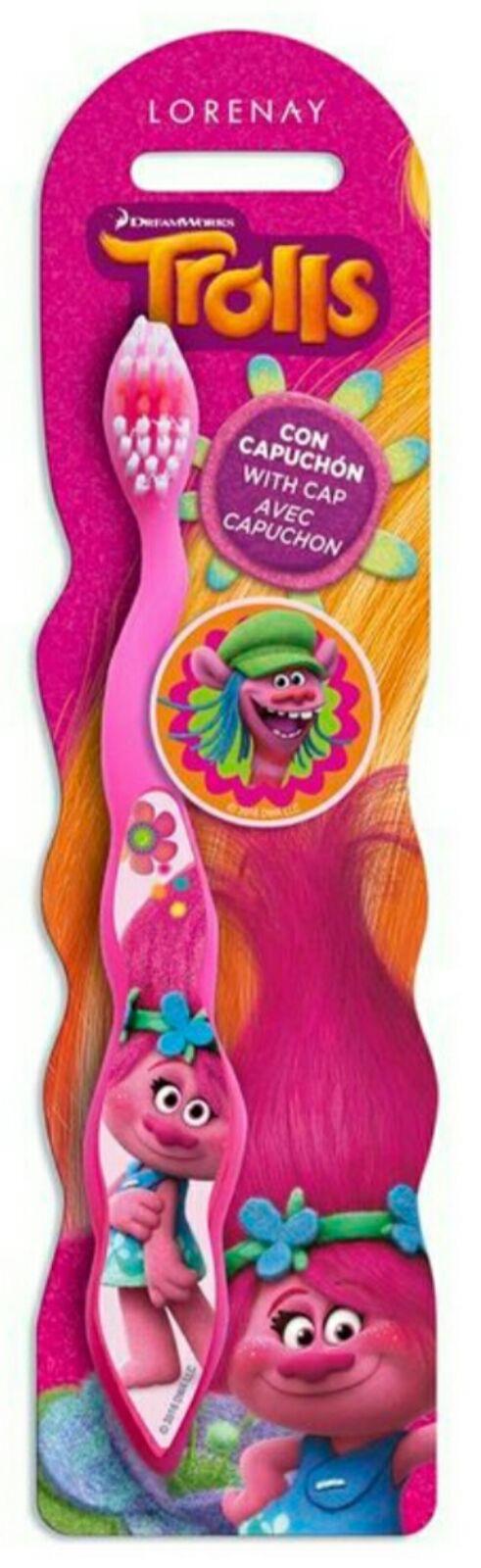 cepillo de dientes trolls