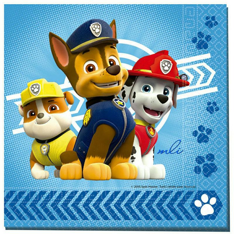 servilletas fiesta patrulla canina
