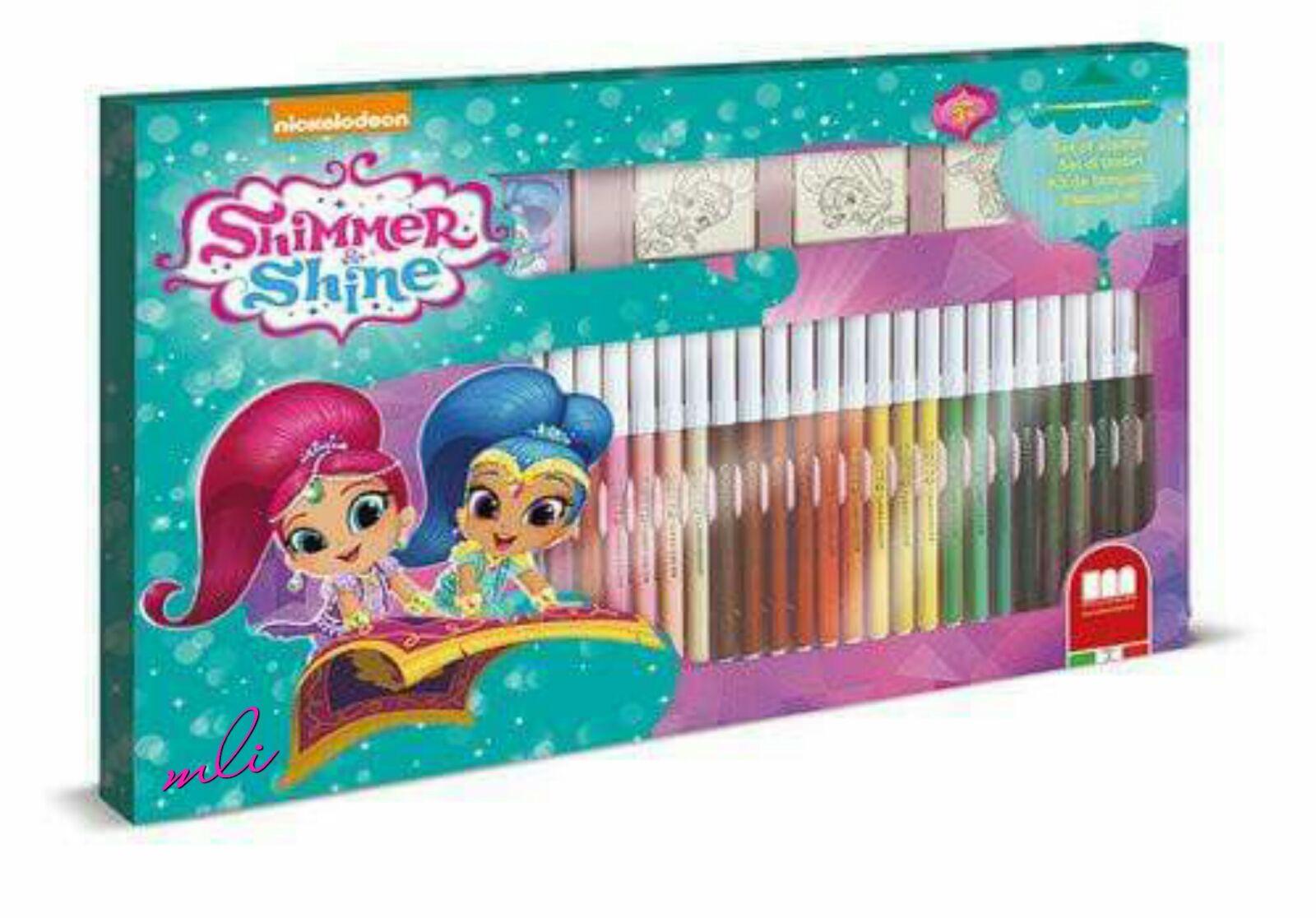 set rotuladores+sellos shimmer shine