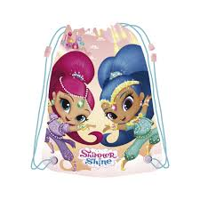 bolsa-saco shimmer and shine