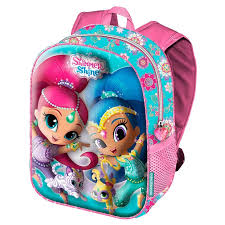 mochila 3D shimmer and shine