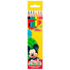 lapices de colores mickey