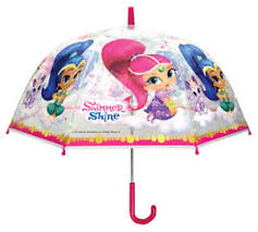paraguas shimmer and shine