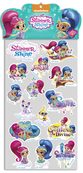 stickers shimmer and shine