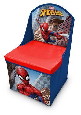 silla guarda-juguetes spiderman